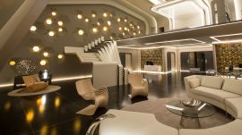 Inside the Most Luxurious Set in Passengers