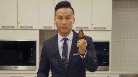 BD Wong Teaches You How to Eat a Chicken Wing