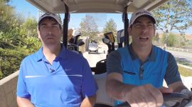 Rob Riggle - Drill Sergeant: Celebrities in Golf Carts