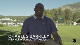 Charles Barkley and Tim Wakefield share the best golf tip they've ever received