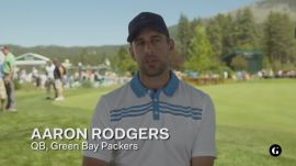 Aaron Rodgers shares his dream round of golf