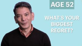 70 People Ages 5-75 Answer One Question: What Do You Most Regret?