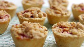 The Easiest Peach-Raspberry Mini-Pies