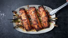 Easy Broiled Salmon with Sesame