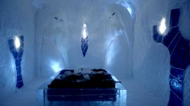 Inside Sweden's Frozen Icehotel