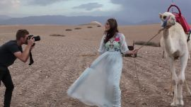 Behind the Scenes With Anna Speckhart in Morocco