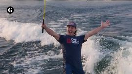 Golfing Wakeboarders Create the Ultimate Trick Shot
