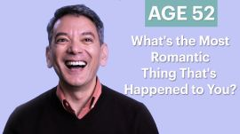 70 People Ages 5-75 Answer: What's the Most Romantic Thing That's Happened to You?