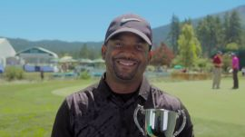 Alfonso Ribeiro Smashes the Glass in One Shot