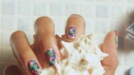 How To Achieve Tye Dye Nails