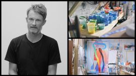 Inspired To Create, Series 1: MOMO. The nomadic artist gives us a tour of his New Orleans studio