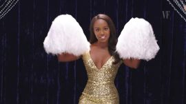 Aja Naomi King Shows You How to Be a Cheerleader