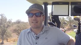 Saved By the Bell's Mark-Paul Gosselaar Wins a Golf Cart Race