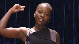 Lupita Nyong'o Teaches How to Do an African Finger Snap