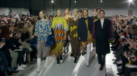 Dries Van Noten's 100th Show Revisits His Best Work, on His Favorite Women