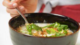 Slow-Cooker Chicken Congee