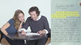 Guys Read Their Girlfriends' Old Diaries - Jeanne & Martin