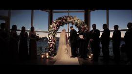 A New York City Sunset Wedding