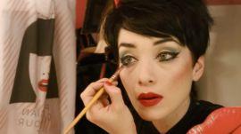 One French Cabaret Dancer's Brilliant Makeup Trick for Bigger Eyes