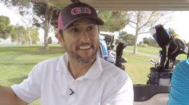 Nomar Garciaparra Isn't Great at Golf, But That's A-OK