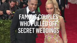 Famous Couples Who Pulled Off Secret Weddings