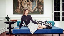 Inside Hilary Swank's Elegant Parisian Loft