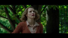 "How Jessica Chastain Became a WW2 Resistance Fighter in ""The Zookeeper's Wife"""