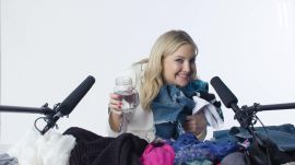 Kate Hudson, Actress and Activewear Entrepreneur, Explores the Sounds of Sequins in ASMR