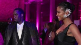 "Sean ""Diddy"" Combs and Cassie on Bringing Drama to the Met Gala"