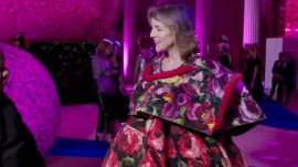Caroline Kennedy Shows Off Her Comme des Garcons Gown
