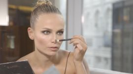 Supermodel Natasha Poly Does HER OWN Makeup for the Met Gala