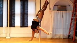 Meet the Plus-Size Pole Dance Fitness Instructor Who's Redefining What It Means to Be in Shape