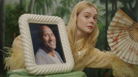 Watch Elle Fanning's Fan Fantasy