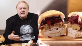 Louie Anderson Puts Sour Cream and Onion Chips in His Sandwich