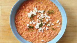 How to Make Risotto with Beets and Goat Cheese
