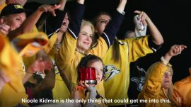 What Happens When Nicole Kidman Goes to a Hockey Game