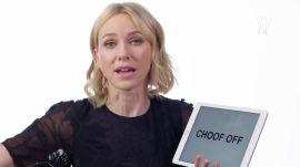 Naomi Watts Teaches You Australian and British Slang