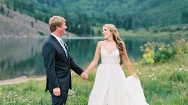 An Ethereal Aspen Wedding in a Meadow