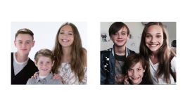 Maddie Ziegler, Jacob Tremblay & Jaeden Lieberher Recreate Their Instagram Posts
