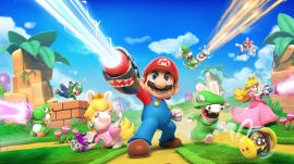 Mario + Rabbids Kingdom Battle gameplay