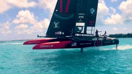 Inside the 35th America's Cup Match in Bermuda