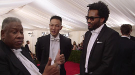 Maxwell Osborne and Dao-Yi Chow at the 2014 Met Gala