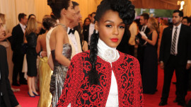 Janelle Monáe at the 2014 Met Gala