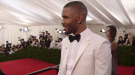 Frank Ocean at the 2014 Met Gala