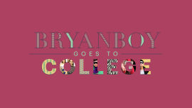 Bryanboy Goes to College