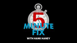 Five-Minute Fix with Hank Haney