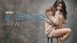 60 Seconds With . . .