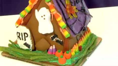 How to Make a Haunted Gingerbread House