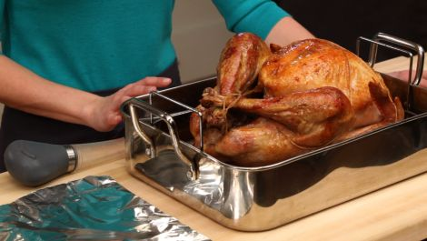 How to Baste and Tent a Turkey