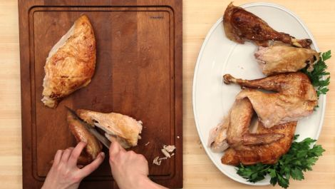 How to Carve and Serve a Turkey